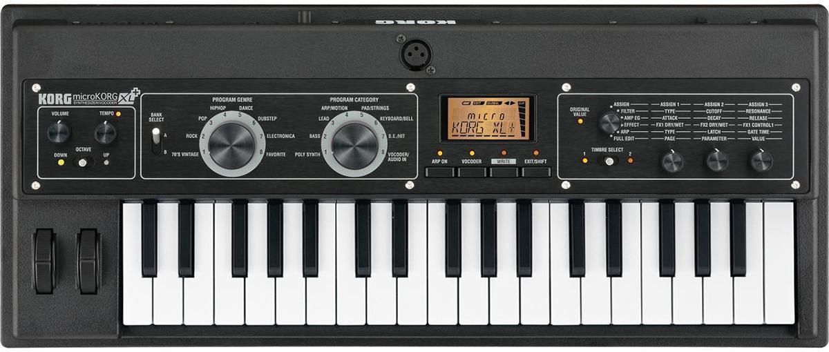 AudioPro   Korg microKORG XL+ synthesizer