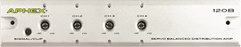 Aphex 120B | Servo Balanced Audio Distribution Amp