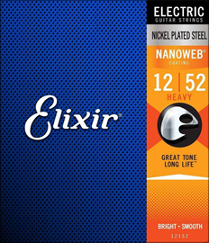 Elixir 12152 Electric NANOWEB Heavy 12-52 Žice Z...