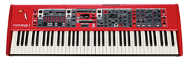 Nord Stage 3 HP76 synthesizer - Synth Desk