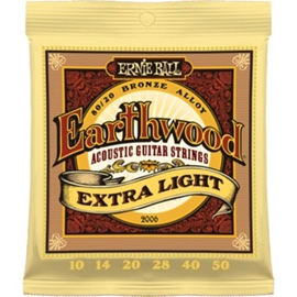 Ernie Ball 2006 Earthwood 80/20 Bronze Extra Lig...