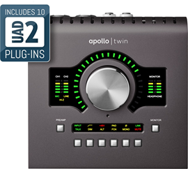Universal Audio Apollo Twin MKII DUO audio inter...