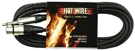 GEWA Microphone cable Hot Wire 5 m black