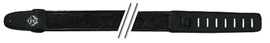 GEWA Guitar Straps Fire&Stone Leather-Edition Black