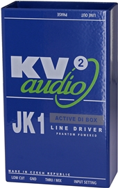 KV2 Audio JK1 Active DI Box