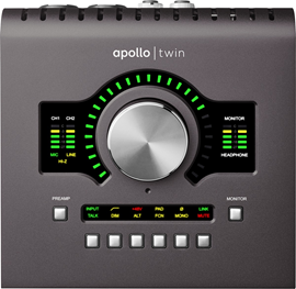 Universal Audio Apollo Twin MKII QUAD | Desktop ...