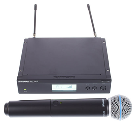 Shure BLX24R/Beta58 S8 Wireless Mic Set