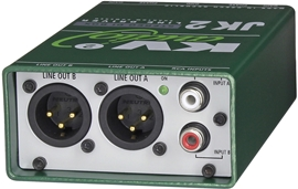 KV2 Audio JK2 Stereo DI Box