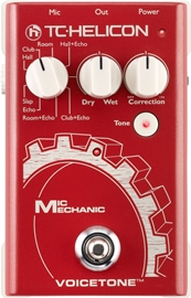 TC Helicon Mic Mechanic | Vocal Effects Stompbox