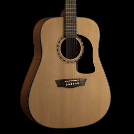 Washburn  AD5-A-U Dreadnought  Acoustic Natural