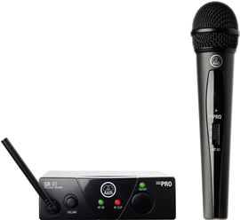 AKG WMS40 Mini Vocal Set US45B Wireless Mic System
