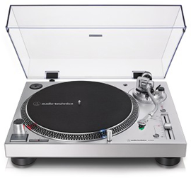 Audio-Technica AT-LP120X Silver | USB Turntable