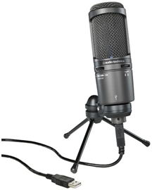 Audio-Technica AT2020USB Condenser Mic