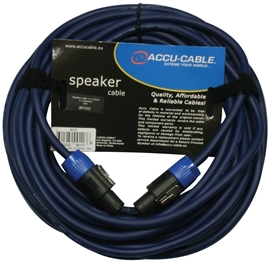 American Audio Accu-Cable AC-SP2-2,5/15