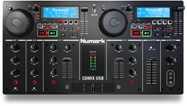 Numark CDMIX USB CD Player with Mixing Console