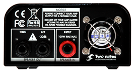 Two Notes Torpedo Captor 4 Ohms | LoadBox/Attenu...