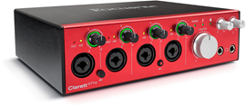 Focusrite Clarett 4Pre audio interfejs