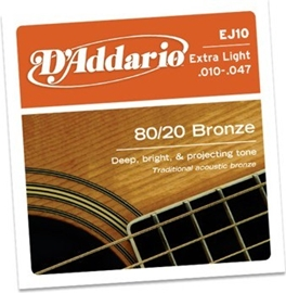D'Addario EJ10 Extra Light 10-47