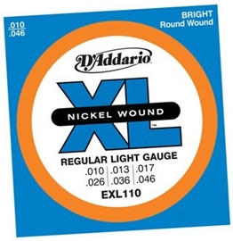 D'Addario EXL110 Regular Light 10-46