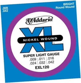 D Addario EXL120 Super Light