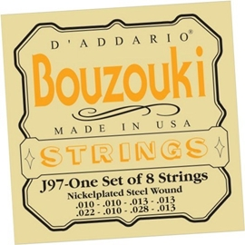DAddario J97 Set Greek Bouzouki Nickel