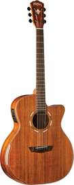 Washburn G55CE Koa Natural