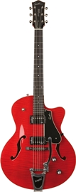 Godin 5th Avenue Uptown GT Trans Red