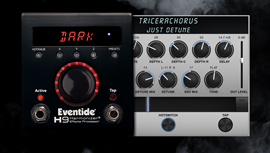 Eventide H9 Max Dark | Multi-Effect Pedal