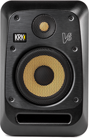 KRK V6 S4 Black | Active Studio Nearfield Monitor