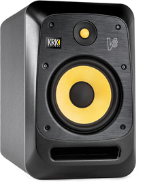 KRK V8 S4 Black | Active Studio Nearfield Monitor