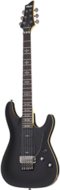 Schecter Demon-6 FR | Aged Black Satin (ABSN) #3661