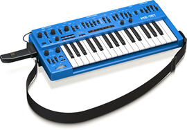Behringer MS-101 Blue | 32-Key Monophonic Analog...