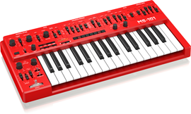 Behringer MS-101 Red | 32-Key Monophonic Analog ...