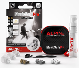 Alpine Musicsafe Pro Eearplugs Transparent