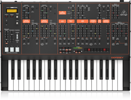 Behringer Odyssey | 37-Key Duophonic Analog Synt...