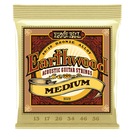 Ernie Ball Earthwood |13-56 Bronze Light Acousti...