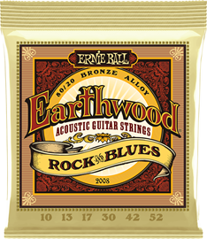 Ernie Ball 2008 Earthwood Rock and Blues w/Plain...