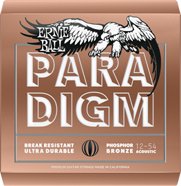 Ernie Ball 2076 - Paradigm Medium Light Phosphor...