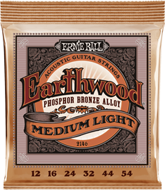 Ernie Ball 2146 Earthwood Medium Light Phosphor ...