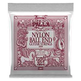 Ernie Ball 2409 Ernesto Palla Black Nylon Gold B...
