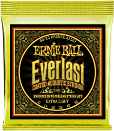 Ernie Ball 2558 Everlast Extra Light Coated 80/2...