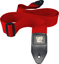Ernie Ball 4040 Red Polypro Guitar Strap crveni ...