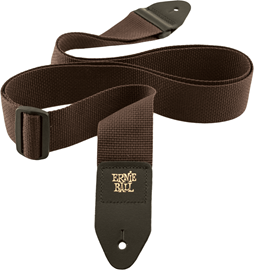 Ernie Ball 4052 Brown Polypro Guitar Strap kaiš ...