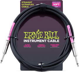 Ernie Ball 6048 10'/3m Straight/Straight Instrum...