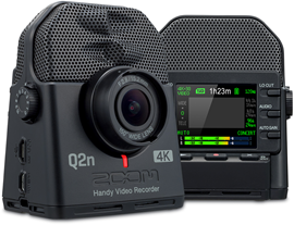 Zoom Q2n-4K Audio-Video Recorder