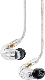 Shure SE215-CL Clear Earphones