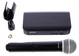 Shure BLX24 - PG58 M17 | Handheld Wireless System