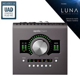 Universal Audio Apollo Twin MKII SOLO | Desktop ...