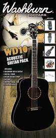 Washburn WD-10B Black Pack
