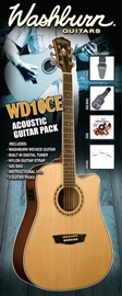 Washburn WD-10CE Black Pack
